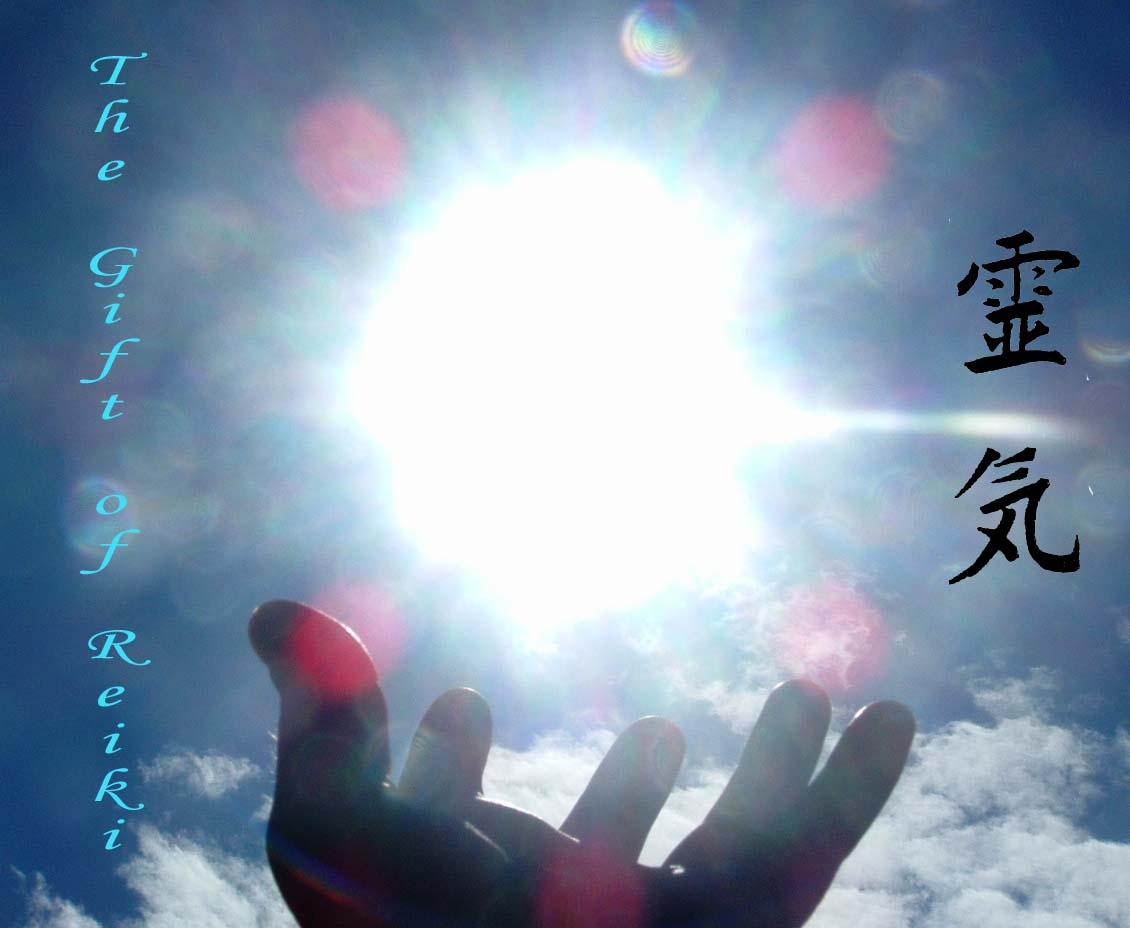 reiki hands in heaven